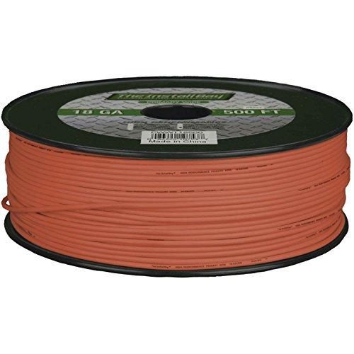 Install Bay PWOR18500 Primary Wire 18 Gauge - Orange (500 Feet)