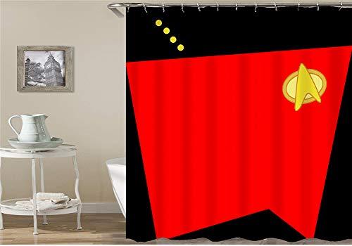 Astratta, Fauna Selvatica, Zebra, bloemen, Superman, Spiderman, Horror decoratiehower Curtain, waterdicht, schimmelbestendig, gemakkelijk te reinigen, 180 x 180 cm