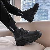 DQS Botas para Hombre, Antideslizantes, Impermeables, 2020, Zapatos de Invierno, Zapatos de Plataforma con Plataforma y Herramientas, Botas Demonia, Zapatillas