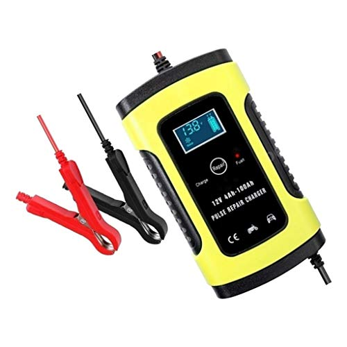 Great Price! D DOLITY 12V 6Amp Automotive Smart Battery Charger/Maintainer for Car, Truck, Motorcycl...