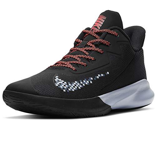Nike Precision 4, Zapatillas de bsquetbol Hombre, Black Football Grey Thunder Blue, 40 EU