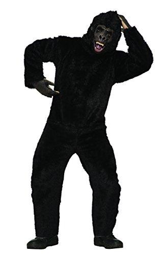 Forum Novelties mens Gorilla Adult Sized Costume, Brown, OS US
