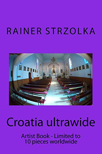 Croatia ultrawide: Artist Book - Limited to 10 pieces worldwide: 11