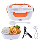 Mozing Electric Lunch Box Protable Food Warmer Heated Lunch Box for Car Truck