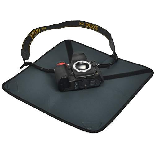 FOCCTS Paño de Neopreno para cámara a Prueba de Golpes de cámara, Tela Protectora Plegable Impermeable para cámaras réflex Digitales con Lente Ajustable Neopreno Funda Protector S (35 × 35 cm)