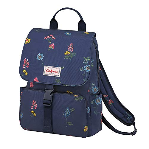 Cath Kidston Twilight Spring Print Buckle Backpack