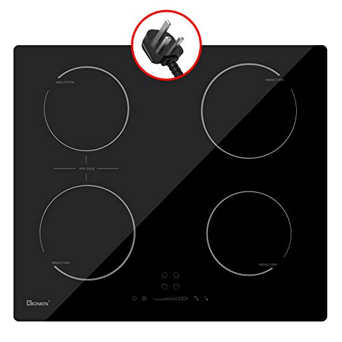 GIONIEN Plug-in Induction Hob 13 Amp 3kW, 60cm Integrated...