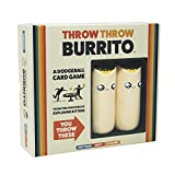 Throw Throw Burrito by Exploding Kittens - A Dodgeball Card Game - Family-Friendly Party Games - Card Games for Adults, Teens & Kids - Juego de Cartas en Inglés