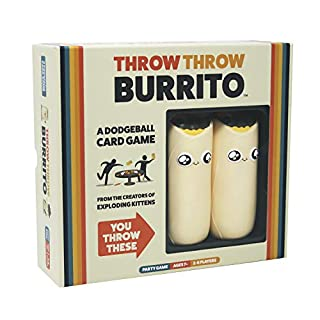 Throw Throw Burrito by Exploding Kittens - A Dodgeball Card Game - Family Card Game - Card Games for Adults, Teens & Kids (B07TS96J7Q) | Amazon price tracker / tracking, Amazon price history charts, Amazon price watches, Amazon price drop alerts