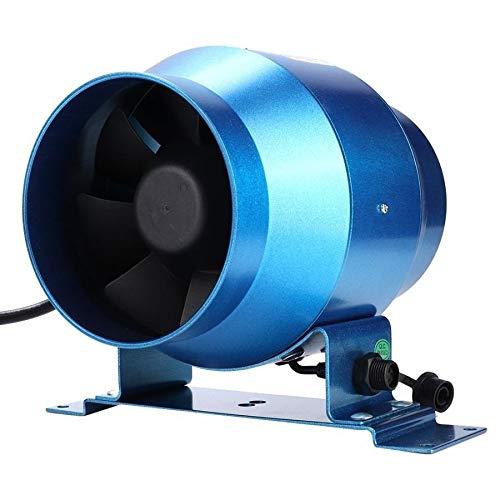 STRAW Extractor de Control Ajustable Extintor de Flujo de Aire de ventilación Impulsar Jardín Las Tierras agrícolas Ventana Ventilador