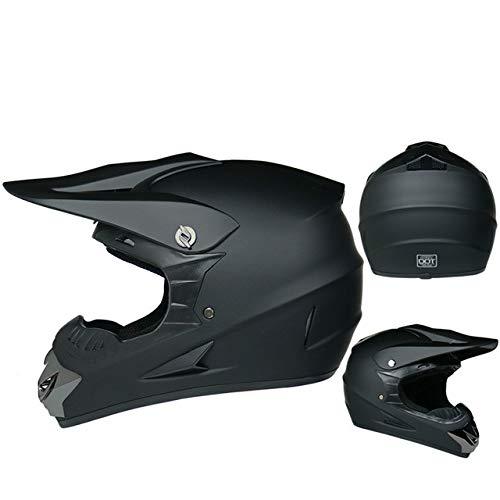 IAMZHL Motorrad Helm Kinder Offroad Helm Fahrrad Downhill Cross Helm Kapazität Motocross Casco-a46-XL