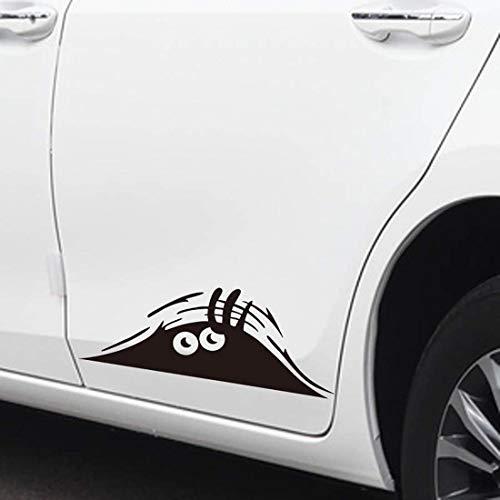OYEFLY Aufkleber Autoaufkleber 3D Funny Peeking Monster Cartoon Auto-Aufkleber Vinyl Badge Emblem Aufkleber (Stil 2)