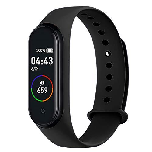 Flytise Smart watch Orologio Fitness Uomo Donna Smart Watch con Misuratore Pressione/Cardiofrequenzimetro Impermeabile IP67 Orologio Sportivo