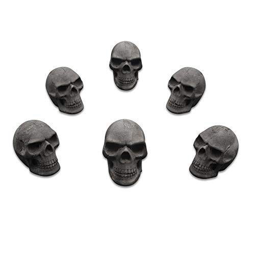 Trees&Forrest FiveTop Burnable Charcoal Imitated Human Fire Pit Skull Gas Log for...
