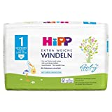 HiPP Babysanft Windeln für Säuglinge, Mit Nässeindikator, Geeignet von 2-5 kg, Gr. 1 (50-56), 1 Tragepack, 24 Stück