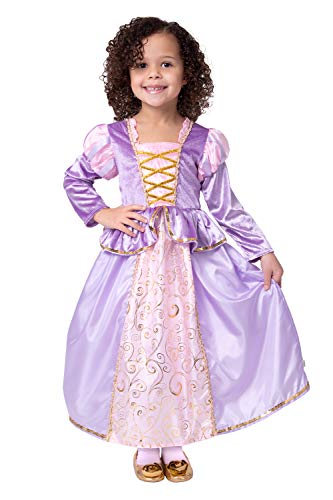 Little Adventures Classic Rapunzel Princess Dress Up Costume (Medium Age 3-5)