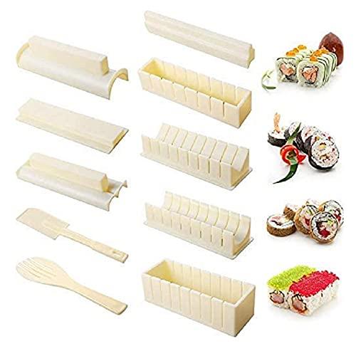 otutun Sushi Maker Kit, 11 Pièces Moules à Sushi Kit...