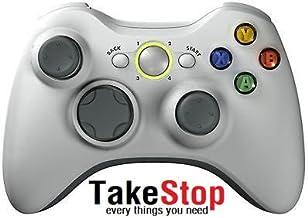 takestop Joystick Joypad Manette pour Xbox 360X360avec câble fil USB compatible blanc