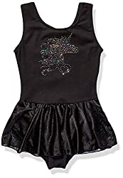 Jacques Moret girls Classic Tank Skirted Leotard