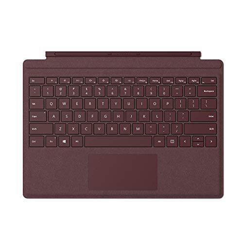Microsoft Surface Pro Signature Type Cover Toetsenbord, achtergrondverlichting LED Toetsenbord bordeaux