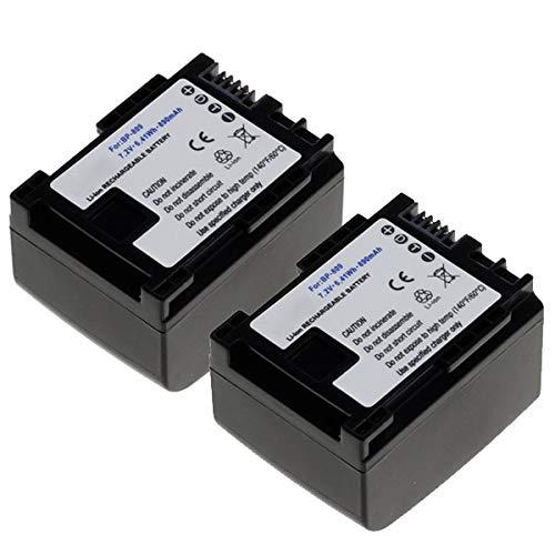 CELLONIC 2X Batería Compatible con Canon XA10 HG10 HG20 HF10 HF100 FS300 VIXIA HF G20 G10...