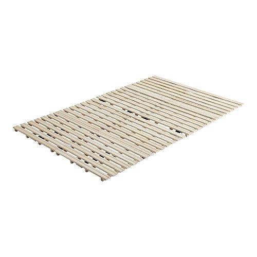 桐のすのこベッド すのこマット セミダブル 2つ折り 折り畳み 二つ折り 木製 湿気対策 スノコ オールシーズン使えるすのこベッド 梅雨や冬の時期にも 省スペース フロアベッド ローベッド