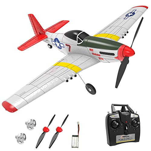 Product Image of the Top Race RC Plane 4 Channel Remote Control Airplane Ready to Fly RC Planes for...