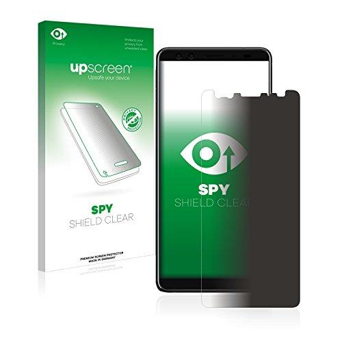 upscreen Anti-Spy Blickschutzfolie kompatibel mit HTC U12 Plus Privacy Screen Sichtschutz Bildschirmschutz-Folie