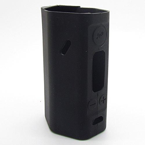 Anti-slip Case for Wismec Reuleaux RX200 200W TC Mod Silicone Skin Sleeve Wrap Case Cover,Onyx Black