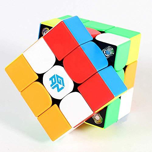 LiangCuber Gan 356 XS 3x3 Magnetic Speed Cube Gan356x S 3x3x3 Magic Cube Gan356 XS Magnet Stickerless (2019 GAN 356 XS)
