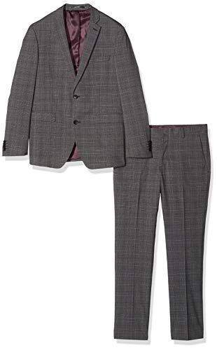 ESPRIT Collection Herren 129Eo2M004 Anzug, Grau (Dark Grey 3 022), (Herstellergröße: 46)