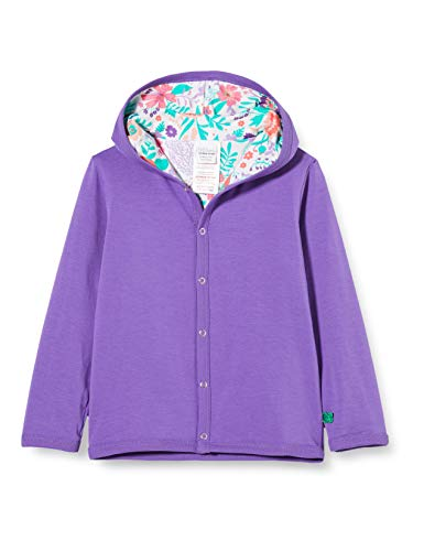Fred'S World By Green Cotton Aloha Jacket Blouson, Multicolore (Purple 018363301), 80/86 Bébé Fille