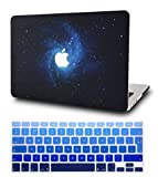 KECC MacBook Air 13 Pulgadas Funda Dura Case w/ EU Cubierta Teclado MacBook Air 13.3 Ultra Delgado Plástico {A1466/A1369}(Azul)