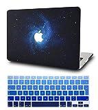 KECC MacBook Air 13 Pulgadas Funda Dura Case w/EU Cubierta Teclado MacBook Air 13.3 Ultra Delgado Plástico {A1466/A1369}(Azul)