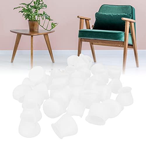 SHYEKYO Protectores de Patas de sillas, Tapa de Patas de Mesa Reducen los arañazos Reducen el Ruido para el Cuadrado Redondo u Otras Formas de Muebles Patas para sillas de Cocina Mesas y sillas