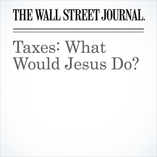 Taxes: What Would Jesus Do? copertina