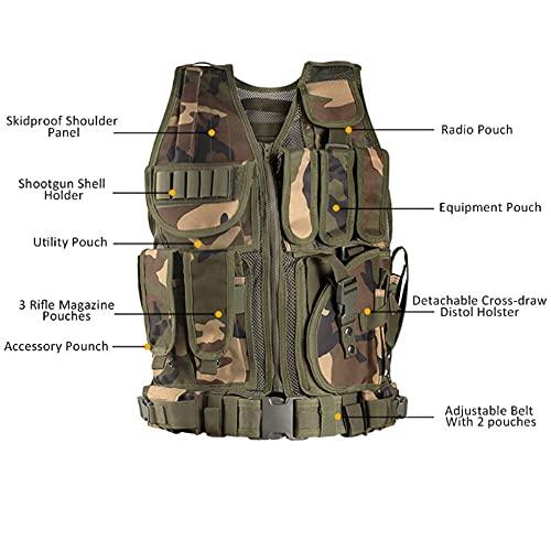 Himal Sports-Vest,600D Encryption Polyester Adjustable Lightweight Comfortable-Vest GR