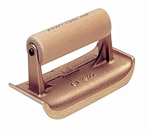 Kraft Tool CF311 1/4-Inch Radius Bronze Edger, 6 x 2-3/4-Inch,Multi