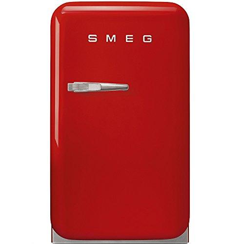 Smeg FAB5RRD refrigerador para bebida Independiente D - Enfriador de bebidas (Independiente, 2 estanterías, Derecho, 16 - 32 °C, 31 L, 33 L)