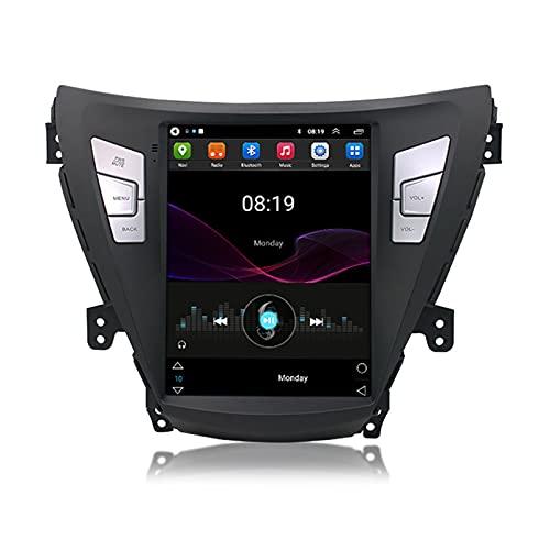 Android 10.0 9 Pulgadas Radio Satelital Para Automóvil Reproductor Multimedia Autoradio 2.5D Navegador GPS Para Hyundai ELANTRA 2011-2013 Soporte WiFi Bluetooth/Control Del Volante(Color:WIFI 2G+32G)