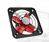 Ventilador de escape Tipo de ventana de humo potente de 20 pulgadas para la cocina silenciosa Gran volumen de aire ventilador de ventilación industrial con cobre Hogar automotriz Baño Ventilación Súpe