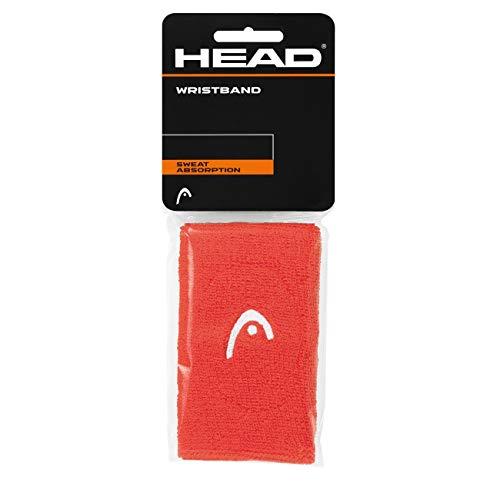 HEAD Unisex– Erwachsene 5 Schweißband, Coral, One Size