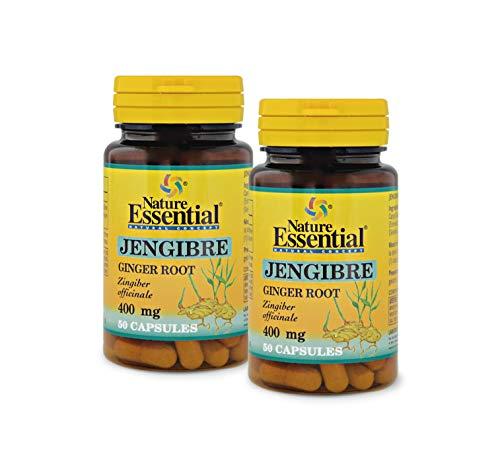 NATURE ESSENTIAL | Zenzero 400 mg | 50 capsule (confezione da 2)