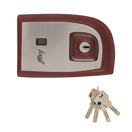 Godrej Locking Solutions and Systems Locks EXS+ Astro 2C Ruby Red for Double Door