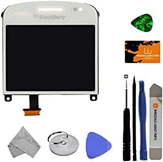 LCD, Digitizer & Lens (001/111) for BlackBerry Bold Touch 9900, 9930 (White) with Tool Kit