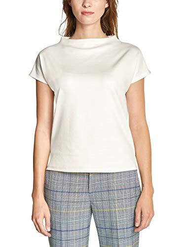 Street One 314045 T-Shirt, Avorio (off White 10108), 50 (Taglia Unica: 44) Donna
