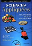 Sciences Appliquées - Cap - Eleve - Maj 2011 de Jf. Augez Sartral ( 1 janvier 2011 )