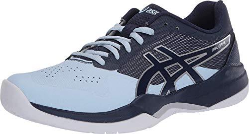 ASICS Women's Gel-Game 7 Tennis Shoes, 5.5M, Soft Sky/Peacoat