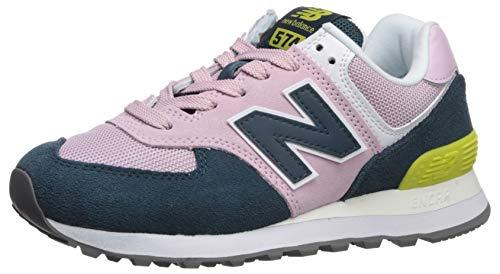 New Balance Damen 574v2 Sneaker, Pink (Pink/Blue Pink/Blue), 39 EU