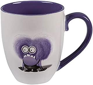 Universal Studios Florida Minion Mayhem Despicable Me Evil Mean Nasty Purple Minion I Don't Do Mornings Large 20 Oz. Mug Coffee Cup